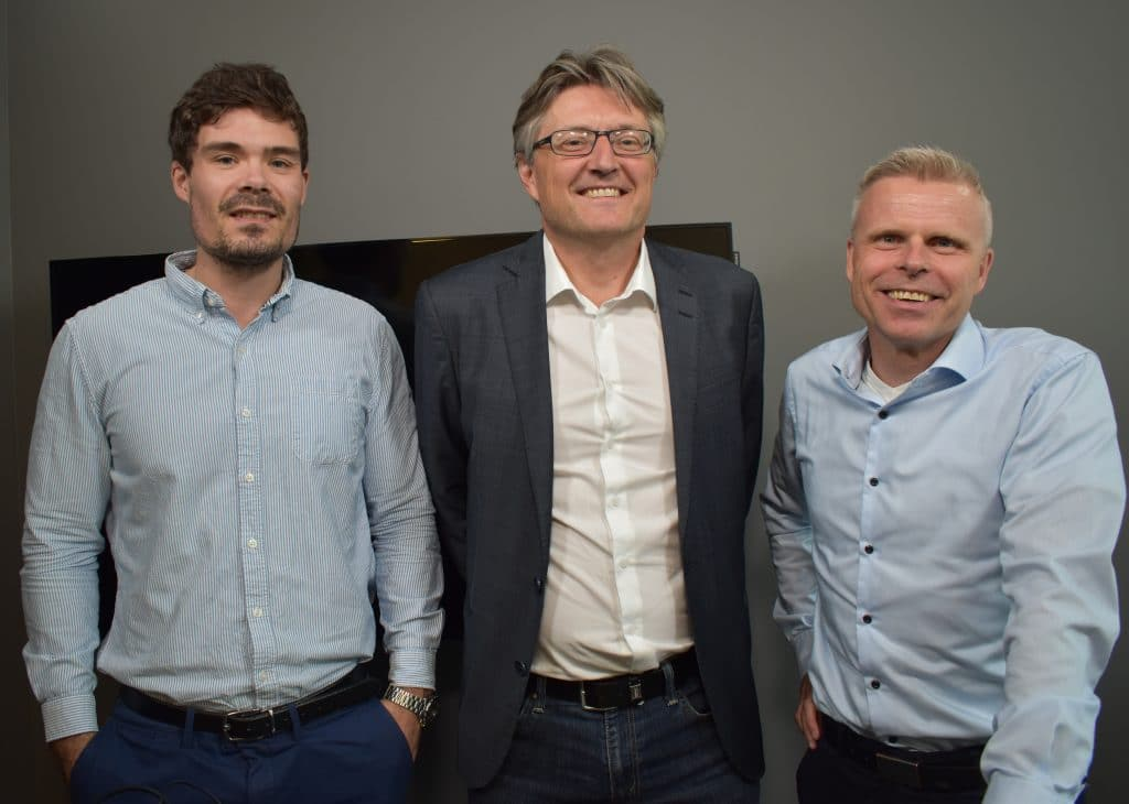 Mads Johannesen, Petter Tusvik, Bjørn Erik Sættem
